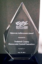 Democratic Achievement award